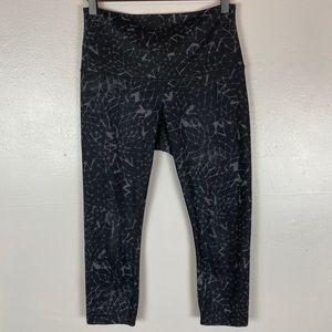 Lululemon Wunder under crop Capri pants 6 black